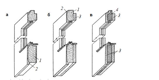 Конструкции наружных стен гражданских и промышленных зданий